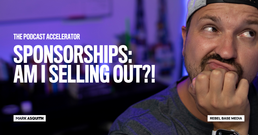 Sponsorships: Am I Selling Out?!